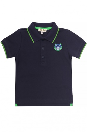 Tiger head polo od Kenzo Kids